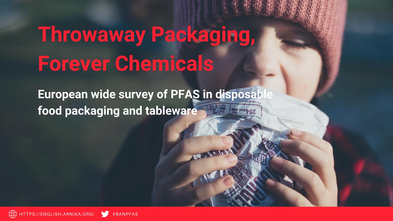 Food packaging PFAS